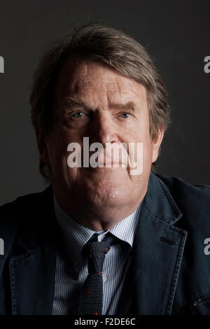 Jeremy Lewis at the Oldie Literary Lunch 16-09-15 - Stock Photo