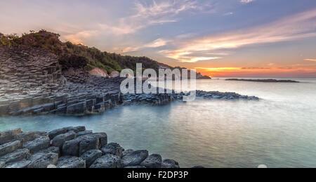 Sunrise on Giant Causeway