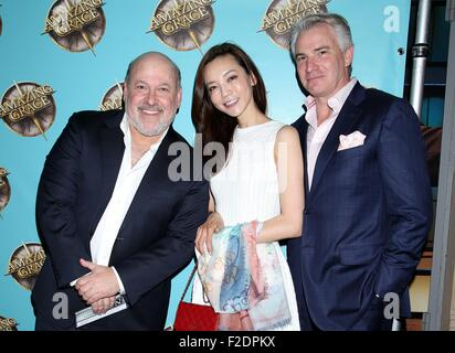 Broadway opening night for Amazing Grace at the Nederlander Theatre - Arrivals.  Featuring: Frank Wildhorn, Yoka - Stock Photo
