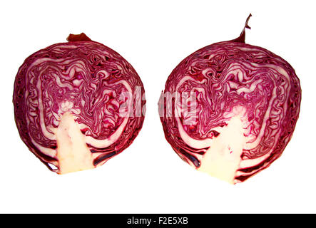 Rotkohl - Symbolbild Nahrungsmittel. - Stock Photo