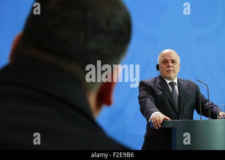 Haider al Abadi - Treffen der dt. Bundeskanzlerin mit dem irakischen Premierminister, Bundeskanzleramt, 6. Februar - Stock Photo