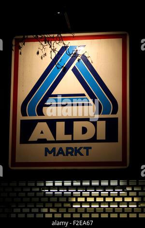 Logo Aldi Berlin Deutschland Stock Photo 105181680 Alamy