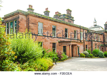 Sudley House, Aigburth, Liverpool, England, UK is an art gallery which contains the collection of George Holt, - Stock Photo