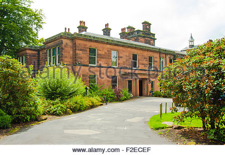 Sudley House, Aigburth, Liverpool, England, UK is an art gallery which contains the collection of George Holt - Stock Photo
