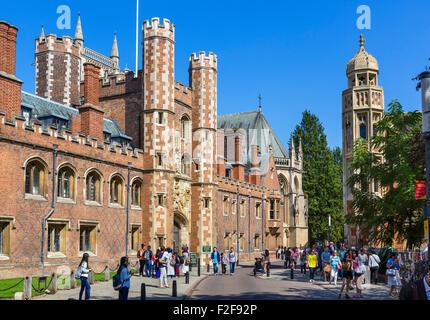 St John's College, Cambridge University, Cambridge, Cambridgeshire, England, UK - Stock Photo
