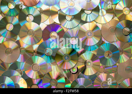 Background - CD-DVD - Stock Photo