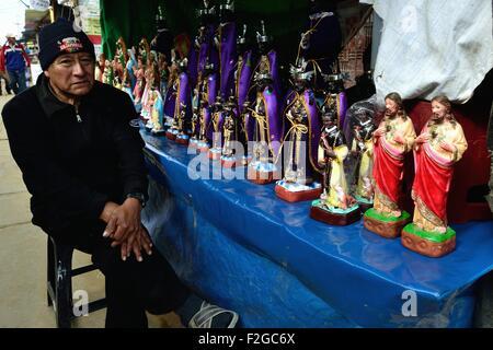 Señor Cautivo de Ayabaca peregrination in AYABACA. Department of Piura .PERU - Stock Photo