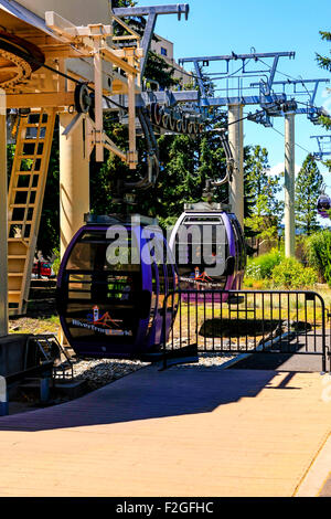 """The Riverfront Park Skyride in Washington. One of the Top 12 Scenic Cable Rides in the World"""" in 2013 by Conde Nast, - Stock Photo"""