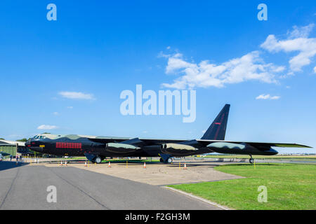 Boeing B-52 Stratofortress at the Imperial War Museum, Duxford, Cambridgeshire, England, UK - Stock Photo