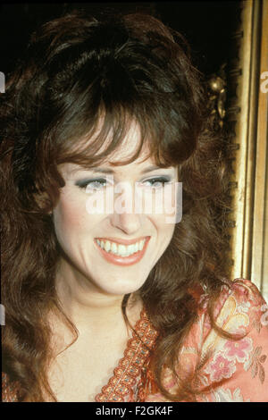 GRACE SLICK of US group Jefferson Airplane in 1968. Photo Tony Gale - Stock Photo