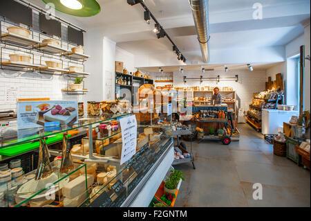 Italy Piedmont Bra 18th September 2015 - ' La bottega Alimentare ' - Stock Photo