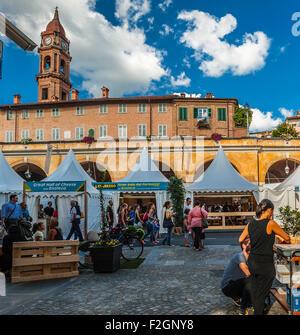 Italy Piedmont Bra 18th September 2015 the fair 'Cheese' - Stock Photo