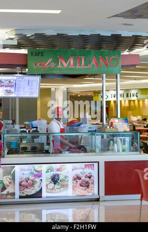Cafe Milano shop - Stock Photo