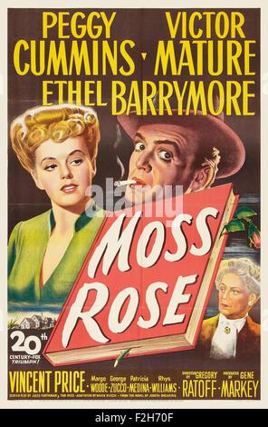 Moss Rose 01 - Movie Poster - Stock Photo