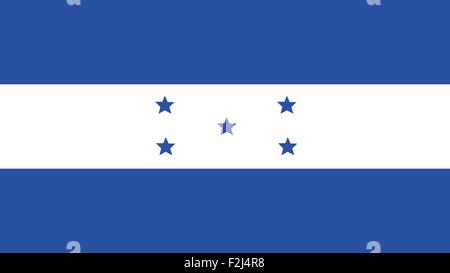 honduras Flag for Independence Day and infographic Vector illustration. - Stock Photo