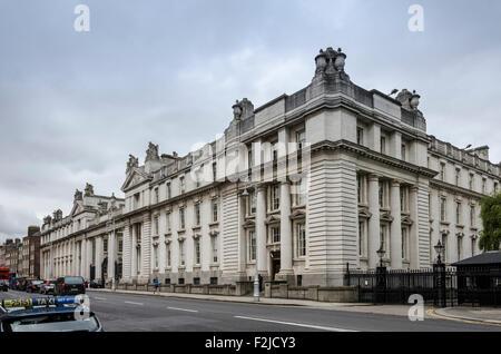 Government buildings, Merrion Street Upper, Dublin, Ireland - Stock Photo