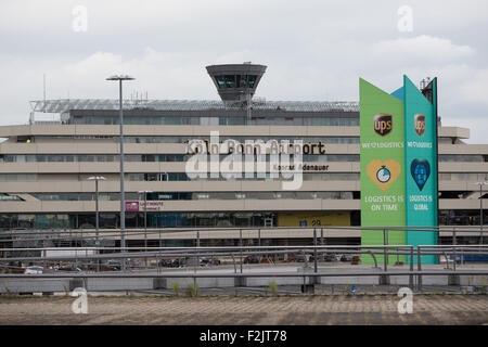 Cologne, Germany. 20th Sep, 2015. The airport in Cologne, Germany, 20 September 2015. The Cologne Bonn Airport is - Stock Photo