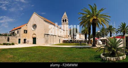 Croatia, Trogir, Dominican Friary - Stock Photo