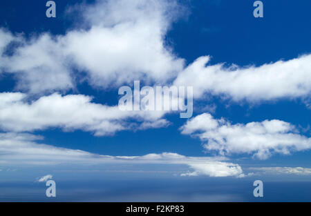 cloud over ocean natural empty background - Stock Photo
