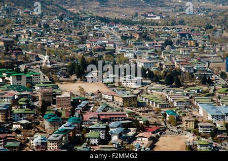 Thimphu - Bhutan - Stock Photo