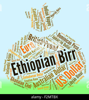 Ethiopian Birr Meaning Forex Trading And Word - Stock Photo