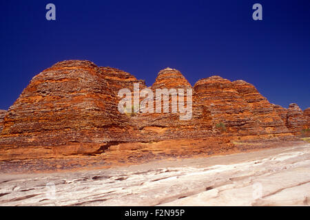 PICANNINY GORGE IN THE PURNULULU NATIONAL PARK, KIMBERLEYS, WESTERN AUSTRALIA - Stock Photo