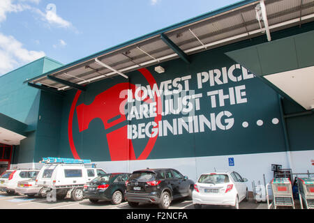 Bunnings DIY hardware store, a chain owned by Wesfarmers ...