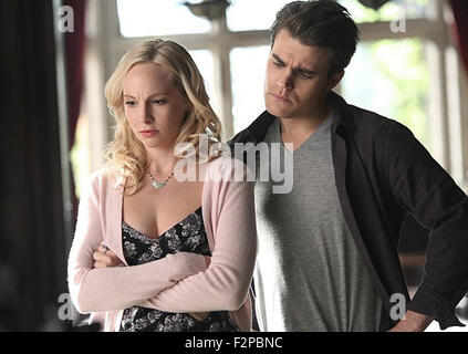 THE VAMPIRE DIARIES, THE DAY I TRIED TO LIVE  2009 CW production with Candice Accola and Paul Wesley - Stock Photo