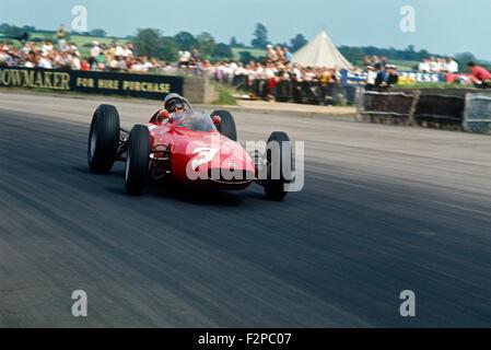 1960s BRM racing car - Stock Photo