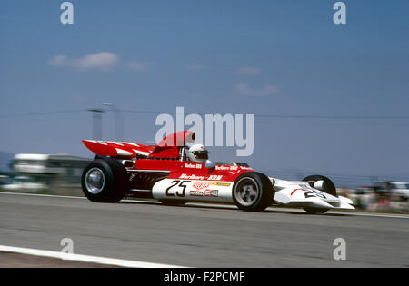 Helmut Marko in his BRM 1972 - Stock Photo