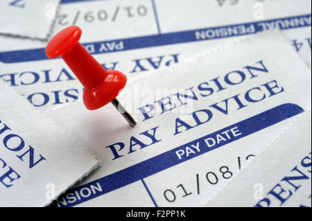 ... PRIVATE PENSION PAY ADVICE WITH NOTICEBOARD PIN RE PENSIONS SAVINGS  PAYMENTS INVESTMENTS COMPANY WORKPLACE RETIREMENT