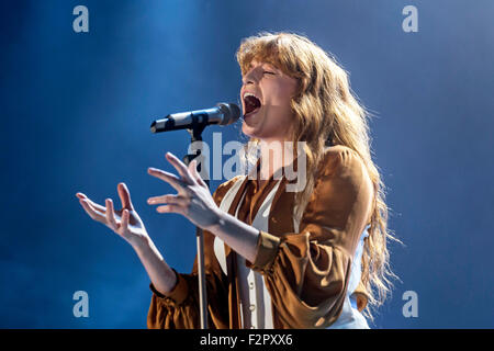 Florence and the Machine - Live Performance - Alexandra Palace - London - Stock Photo
