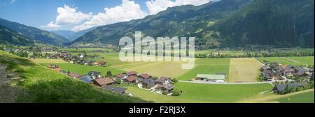 Zillertal valley, Tyrol, Austria - Stock Photo