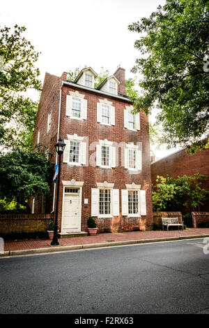 James Neall House, 25 South Washington Street, Easton, Maryland - Stock Photo