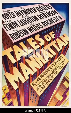 Tales of Manhattan - Movie Poster - Stock Photo
