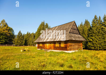 Traditional polish wooden cottage house in a small village in poland stock photo royalty free - Traditional polish houses wood mastership ...