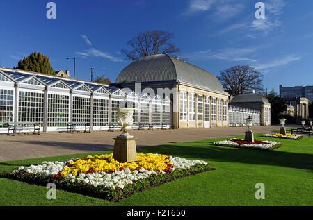 UK,South Yorkshire,Sheffield,Botanical Gardens & The Glass Houses - Stock Photo