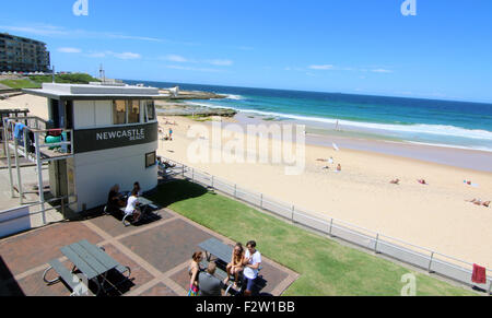 Newcastle Beach Australia New South Wales - Stock Photo