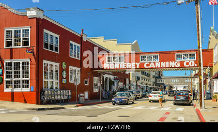 Historic Cannery Row - Monterey, California, USA - Stock Photo