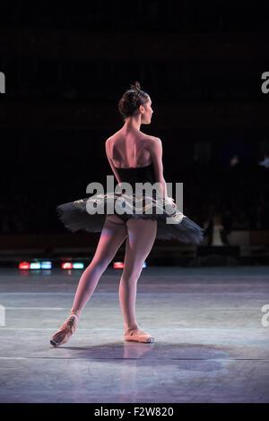 Prima ballerina dancing - Stock Photo