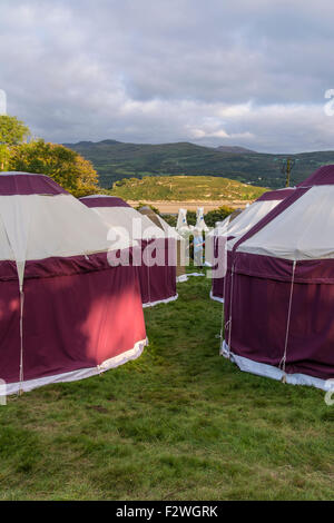 Festival No.6 Music Festival in Portmeirion Village, Gwynedd, Wales, UK - Stock Photo