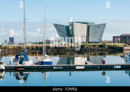 Titanic Visitor Centre, Belfast - Stock Photo
