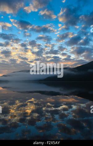 Ullswater, Lake District National Park, Cumbria, England, UK - Stock Photo