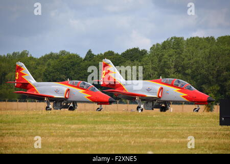 At the Royal International Air Tattoo RIAT 2015 at Fairford, military and civilian planes gathered from across the - Stock Photo