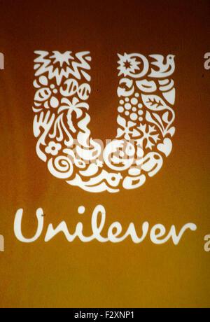 Markenname: 'Unilever', Berlin. - Stock Photo
