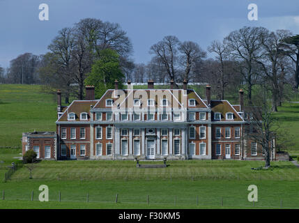 Waldershare Park, Kent. Early 18th century house of red brick - Stock Photo