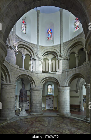 Cambridge, Round Church or Church of the Holy Sepulchre - Stock Photo