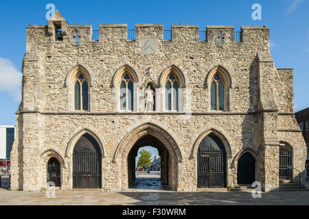 Bargate in Southampton, Hampshire, England. - Stock Photo
