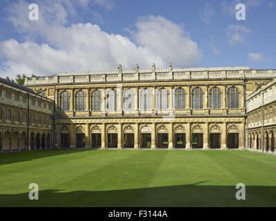 Cambridge, Trinity College, Library in Nevile's court - Stock Photo