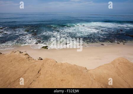 Ocean view from La Jolla, California - Stock Photo